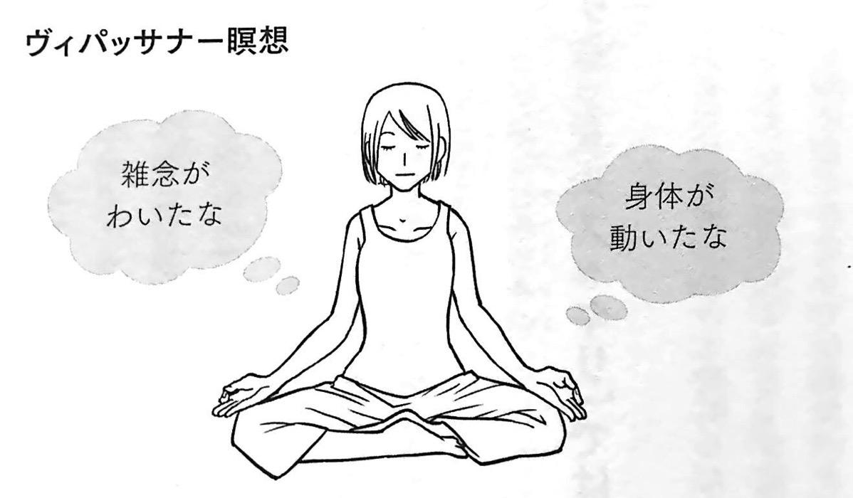 図3 ヴィパッサナー瞑想 第2章P97
