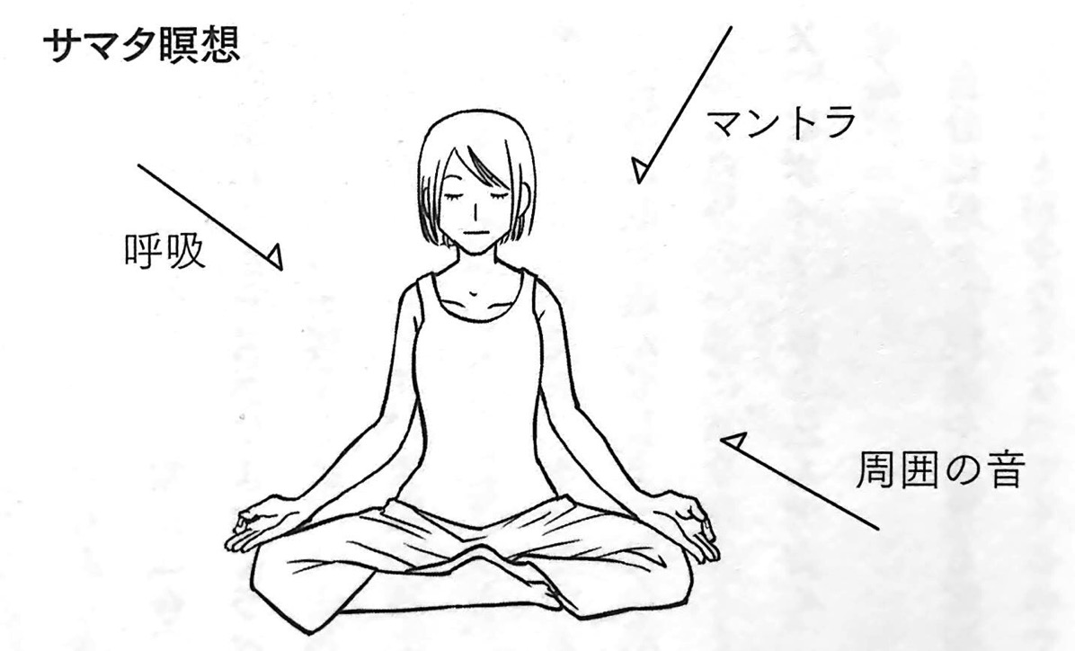 図2 サマタ瞑想 第2章P95