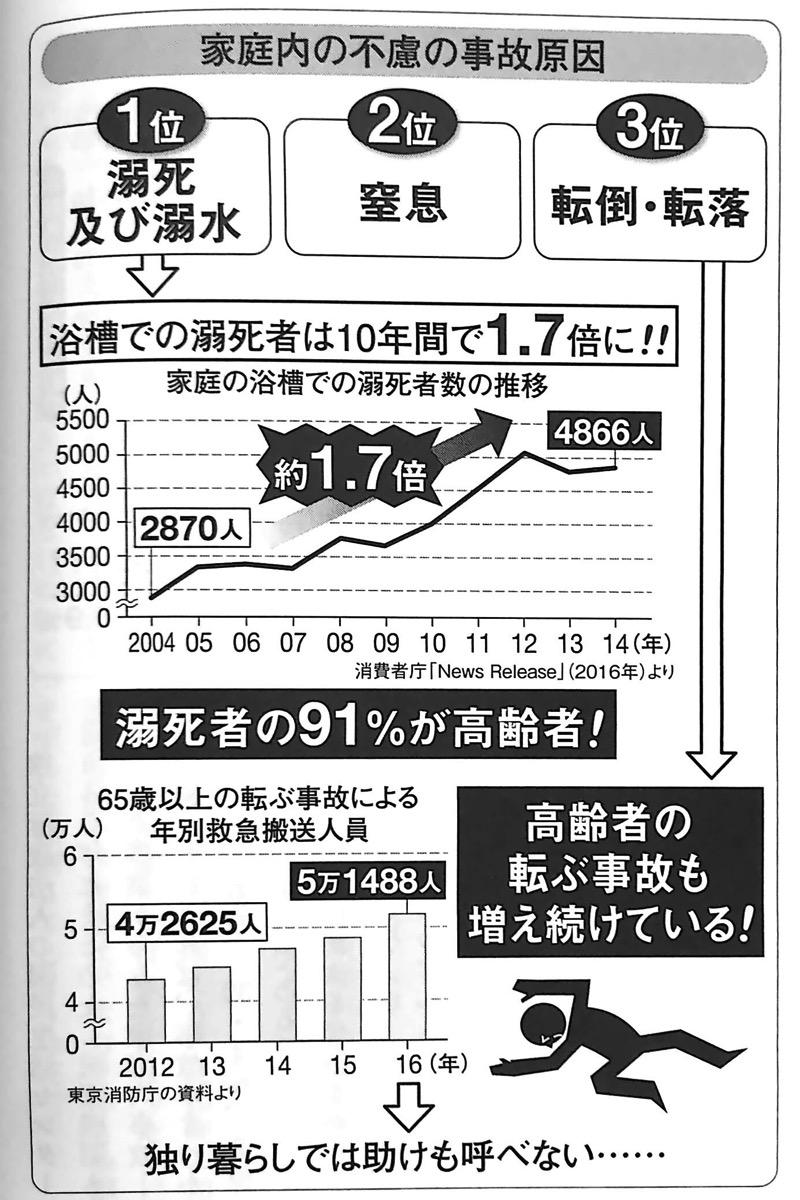 図2 家庭内の不慮の事故原因 未来の年表2 1−1