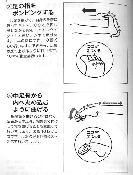 図4−3 足のマッサージ③ 関節の可動域を広げる本 第2章