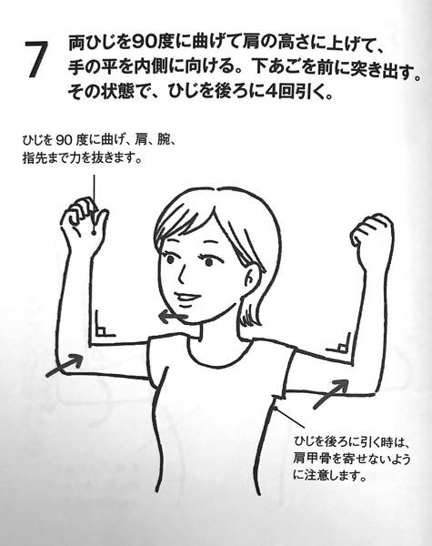 図4−6 耳たぶ回しのやり方⑥ 長生きしたければ 運動はやめなさい 第6章