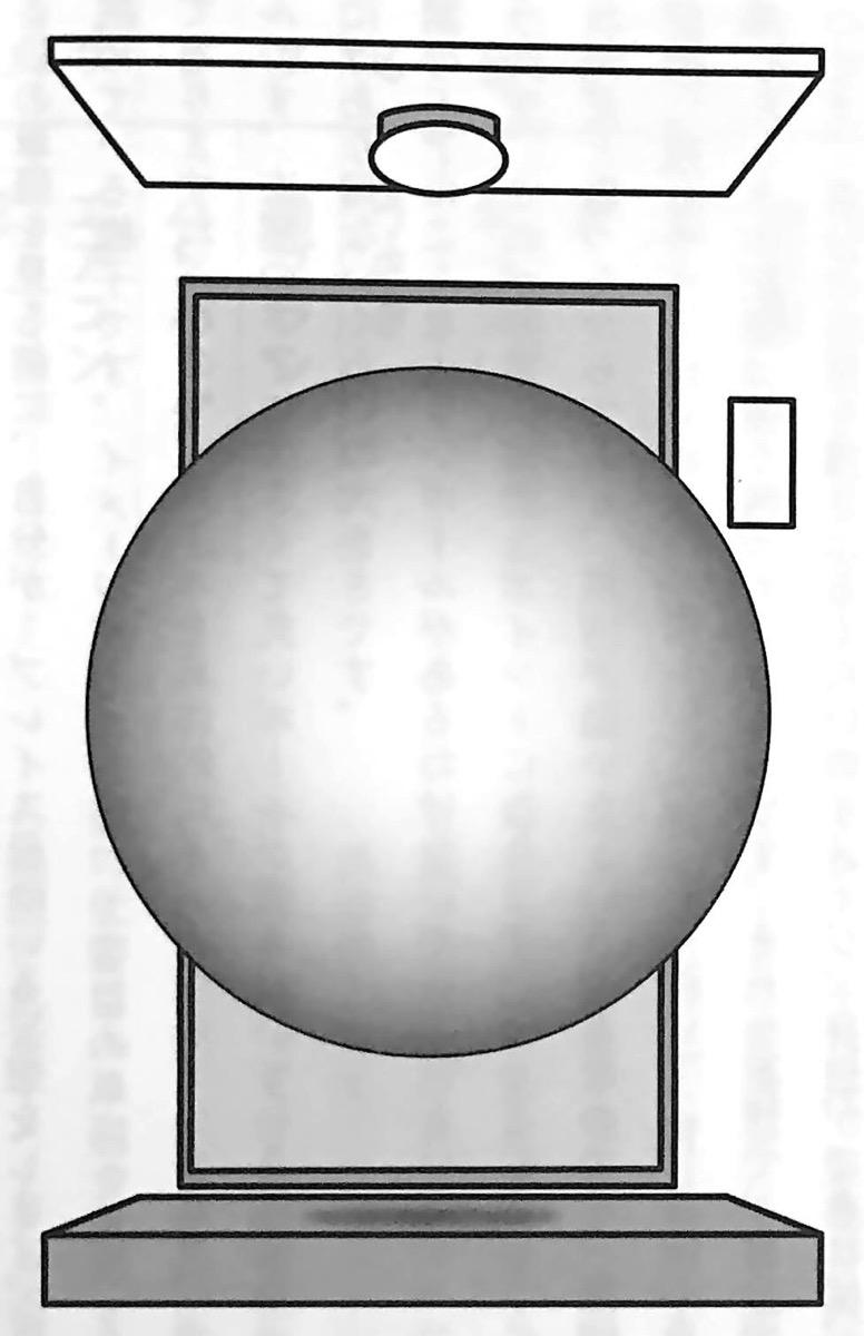図5 玄関にある大きくて丸いボール 場所法 第4章