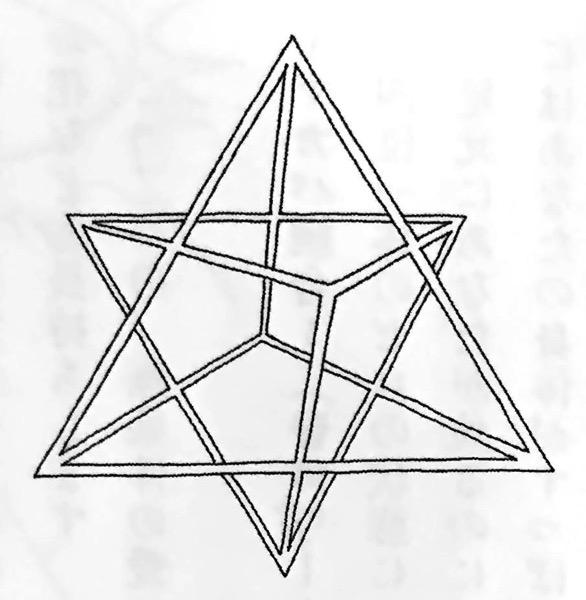 図1−1 マカバ と フラワーオブライフ エナの超シンプルな生き方 STEP2 第3章